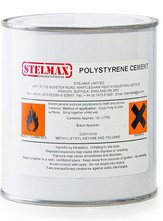 Stelmax Polystyerene cement